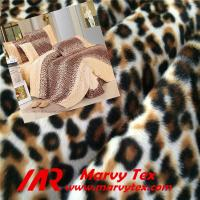 100% polyester leopard printed velboa fabric Manufactures