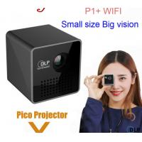 wholesale  P1+  WIFI Wireless LED Smart Mini Projector Support Miracast DLNA 30Lumes Handheld Video Proyector Beamer Manufactures