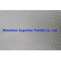 Cotton Twill Dot Print Elastic Stretch Fabric 32S 40D 180GSM Manufactures