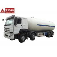 HOWO Chassis LPG Semi Trailer Dual Layer Structure Turbo Charged Engine Manufactures