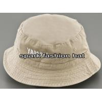 China Wholesale Cotton Twill Custom Bucket Hat With Embroidered Logo on sale