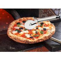 Buy cheap Kitchenware Plastic Pizza Cutter Wheel Stainless Steel Pizza Knife Tool 154g from wholesalers