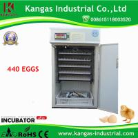 KP-7 Automatic Chicken Incubator for Hatching 440 Eggs with best price Manufactures