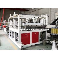 High Grade Recycled PP Hollow Sheet Extrusion Line Long Service Life Manufactures