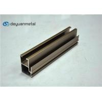 Champagne Anodized Aluminium Profile Extruded Aluminum Window Profile 20 Foot Manufactures