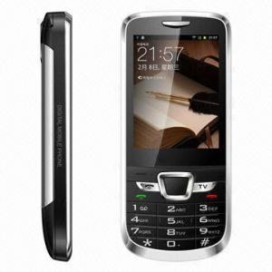 China 3-band 2-SIM Phones, 2.6-inch/CDMA/GSM/TV/Bluetooth/Java/FM/MP3/4-2/Camera on sale