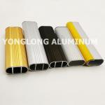 Square Wardrobe Aluminium Frame Profile For Decorative Material / Aluminum Sliding Window Profile Manufactures