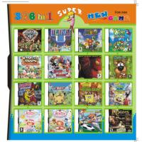 China 366 in 1 366 in one Multi games Card for DS/DSI/DSXL/3DS Game Console on sale
