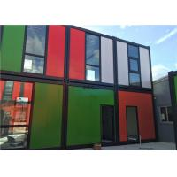 Heat And Water Proof Prefab Container Homes Prefabricated Home Container Manufactures