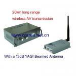 1.2GHz 10W wireless AV transmitter receiver Manufactures