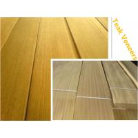 Buy cheap Top Grade Natural Teak Veneers Teak Lamellas from wholesalers