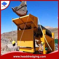 China portable/fixed alluvial gold mining wash plant with shaing table, centrifugal concentrator, etc on sale