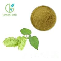 Buy cheap Herbal Beer Hops Flower Extract Powder Humulus Lupulus Extract Hops Extract from wholesalers