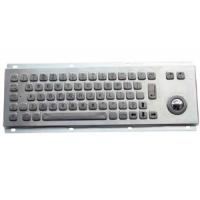 China MKT2631 Compact Metal Keyboard with Trackball on sale