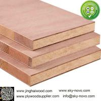 China Sapele,Red oak/veneer faced Blockboard on sale