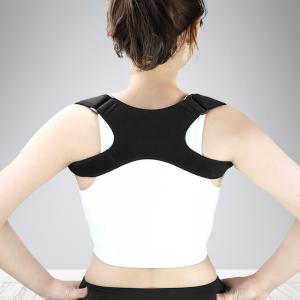 China posture corrector magnetic and back and shoulder support belt black free size on sale