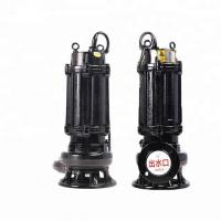 Dirty Water Vertical Sewage Pump High Efficiency For Drainage Station Manufactures