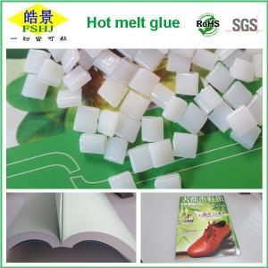 Bookbinding Glue Hot Melt Glue Pellets , Spine Binding Transparent Hot Melt Adhesive