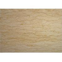 Egypt Perlato Royal Marble Tiles , Hotel Yellow Beige Perlato Marble Slabs Manufactures