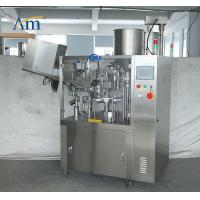 Compact Construction Tube Filling Equipment For Daily Chemical Articles Manufactures