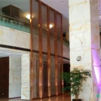 Brushed stainless steel screen surface anti-fingerprints processed bronze plating Screen Manufactures