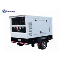 250A Silent Type Diesel Welding Generator Set , Electric 3 Phase Generator Manufactures