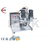 China DHZ-550 Semi-Automatic New Pedal Vial Plastic Bottle Cap Sealing Machine on sale