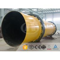 30TPD Triple Pass Rotary Drum Dryer Energy Efficient With Vibrating Feeder Manufactures