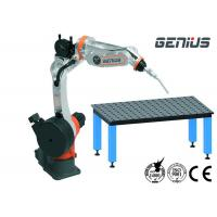 Digital MIG Welding Manipulator , Arc Welding Table With Positioner Automatic Alarm Manufactures