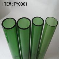 China 3.3 high borosilicate glass tube-GREEN on sale