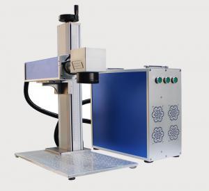 50W Fiber Laser Marking Machine for Carbon Steel Brass Copper Deep Engraving Manufactures