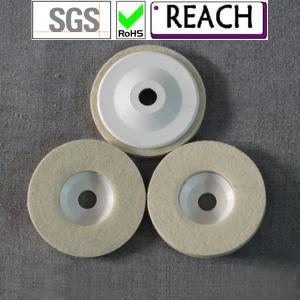 China wool felt disc for marble polishing on sale
