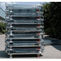 Zinc Finish Rigid Rolling Wire Mesh Cages With Foot Brakes / Castors Manufactures