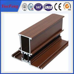 Import China Products Aluminium Profile Doors And Windows Wooden Grain Aluminium Windows Manufactures