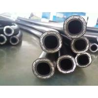 China High pressure hose,  Steel wire braided 3Wire HYDRAULIC RUBBER HOSE High pressure rubber hose on sale
