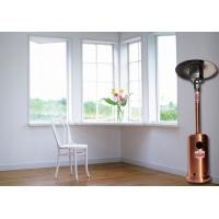 Outdoor Meeting Mushroom Patio Heater With Round Base Side Mounted Wheels Manufactures