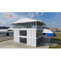 Three Floor Outdoor Event Tents , Triple Deck Tent for Commercial Shop and Office Manufactures