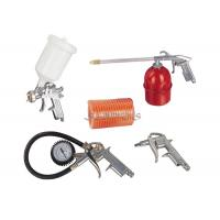 5PCS Spray Gun Kits 600ml Plastic Cup 5m PE / PU Hose Washing Gun ,Tire Inflating Gun Manufactures