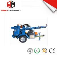 200M Protable Small Trailer  Hydraulic Water Well Drilling Rig Borehole Drilling Equipment Manufactures