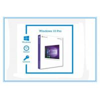 China 3.0 USB X64 Bit Microsoft Windows 10 Pro Product Key OEM Windows 10 Retail Box on sale