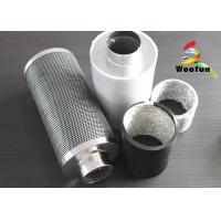 10 Activated Carbon Air Filters 45mm Carbon Bed For Grow Rooms Manufactures
