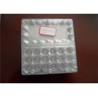 Food Grade Disposable Plastic Egg Boxes 18 Cells Capacity Without Cracking And Crashing Manufactures