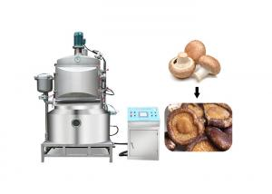 China Dia 700mm 380v Thermal Oil 0.098Mpa Vacuum Fryer Machine on sale