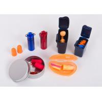 Bulk Cheap Noise Cancelling / Sound Proof Ear Plug With Color Box Packaging Manufactures