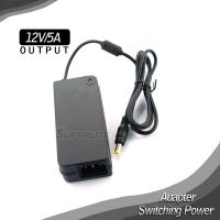 12V 5A ac dc adapter for led,cctv,IP camera Manufactures