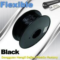 Quality 1.75mm / 3.0mm 3D Printing Rubber Filament Flexible Material Tasteless And for sale