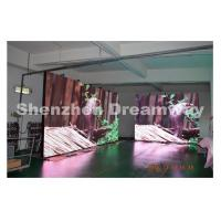 PH10 Outdoor Advertising LED Display 5.76 × 2.88 m DIP346 LED Type Manufactures