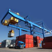China Cargo Seaport Container Gantry Crane  / 45T Rubber Tyred Gantry Crane on sale