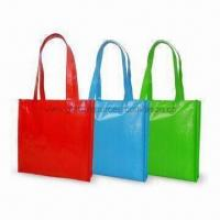 China Promotional Tote Bag, Measures 31 x 30 x 8cm, Made of 115g PP on sale