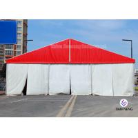 China Different Sized Custom Event Tents With White PVC Fabric For Exhibition , Warehouse on sale